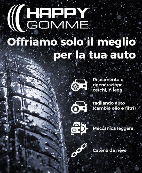 Happygomme - dove cambiare pneumatici