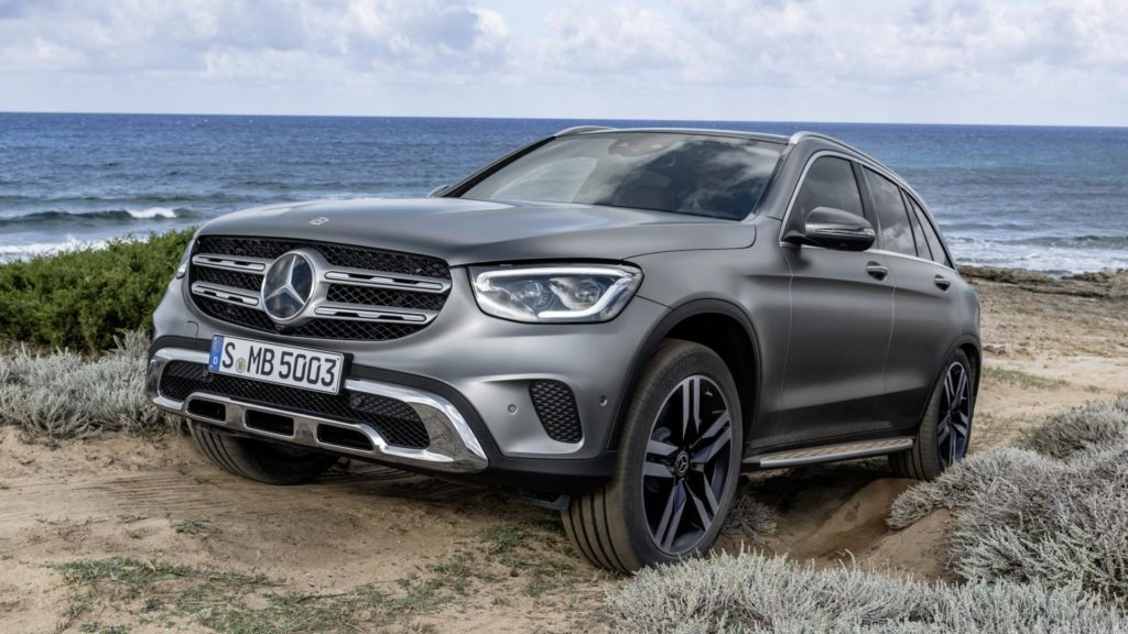 Mercedes GLC - Frontale