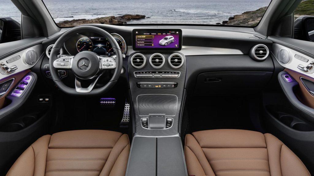 Mercedes GLC - Interni