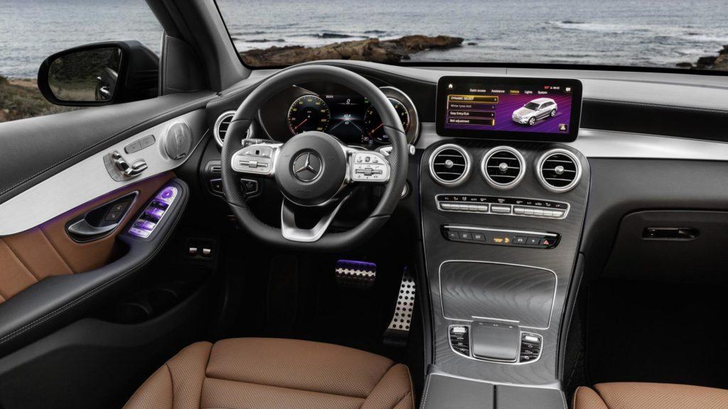 Mercedes GLC - Plancia di comando