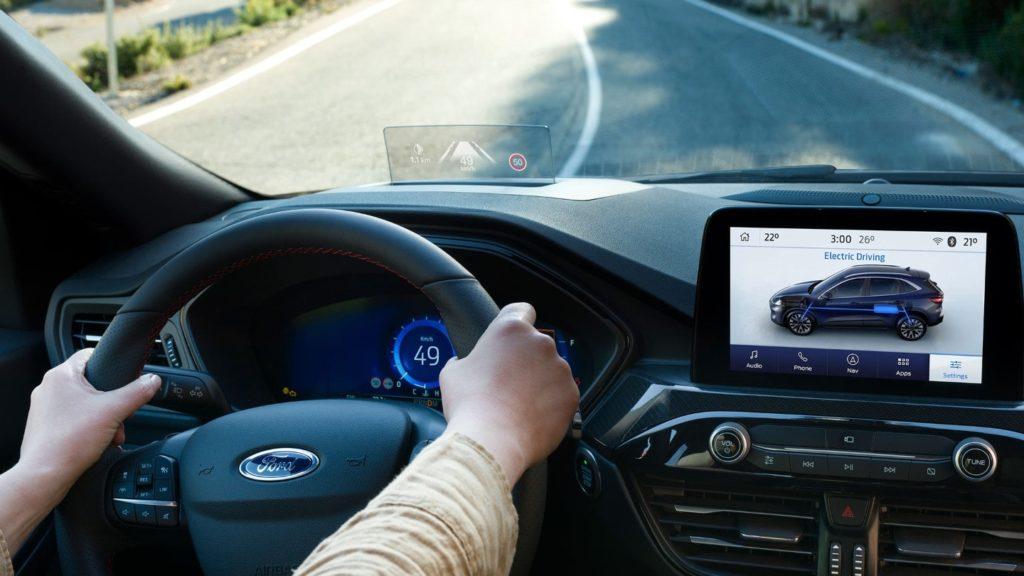 Ford Kuga - Postazione di guida