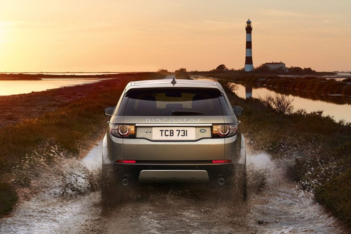 Land Rover Discovery Sport - Posteriore