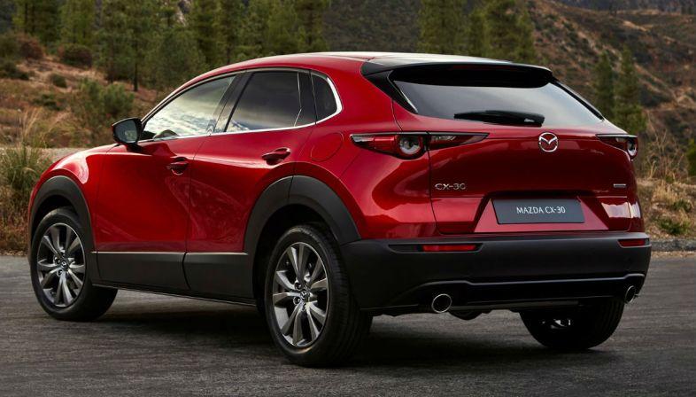 Mazda CX-30 - Posteriore