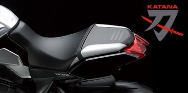 Suzuki Katana - Posteriore
