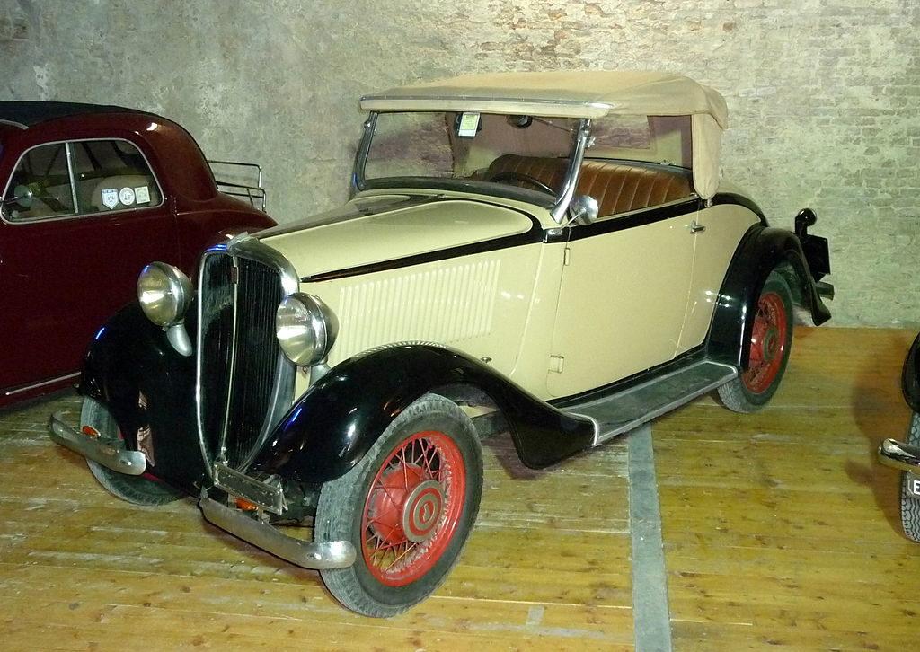 Fiat 508 Balilla - La 508B