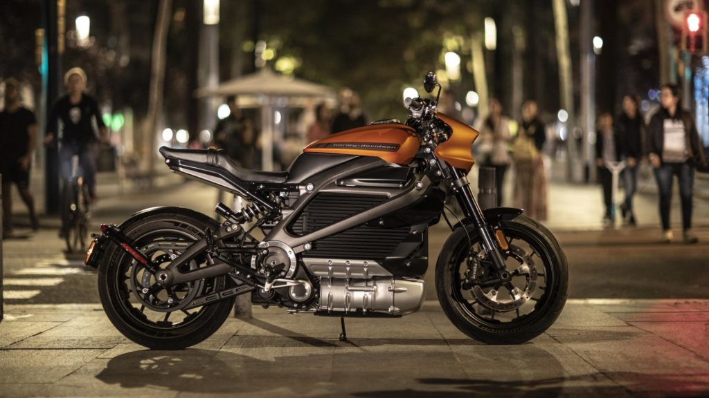 Harley Davidson LiveWire - Laterale