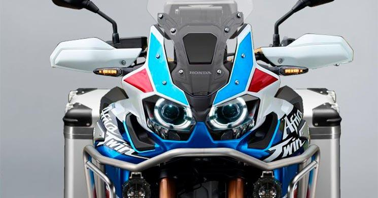 Honda Africa Twin - Frontale