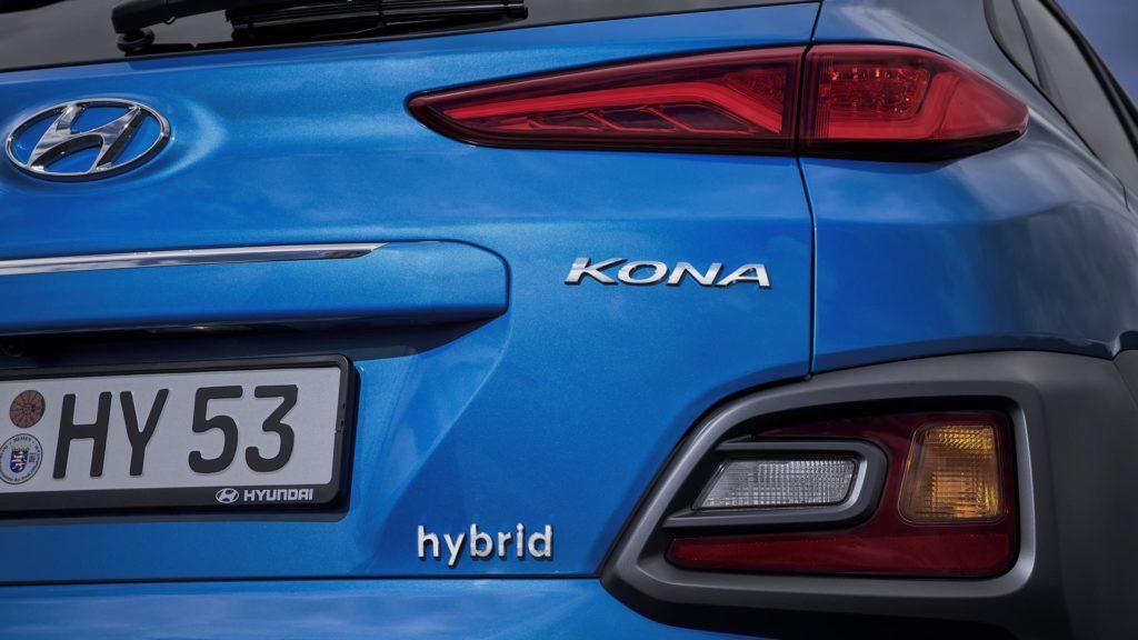 Hyundai Kona Hybrid - Dettaglio
