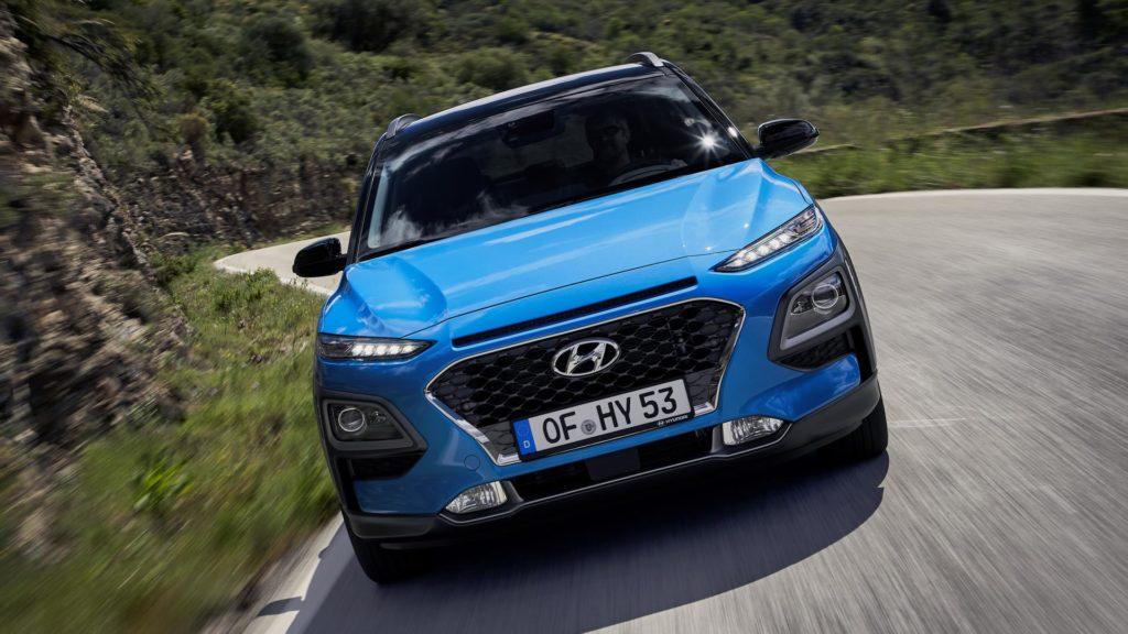 Hyundai Kona Hybrid - Frontale