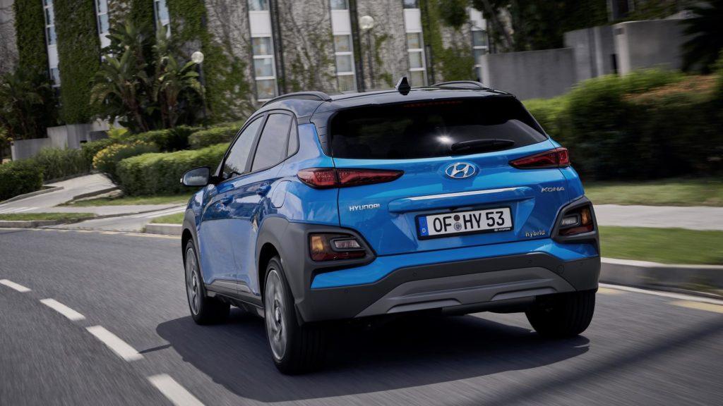Hyundai Kona Hybrid - Posteriore