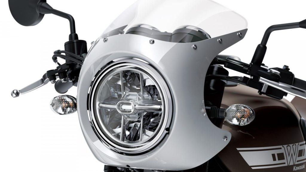 Kawasaki W800 - cupolino