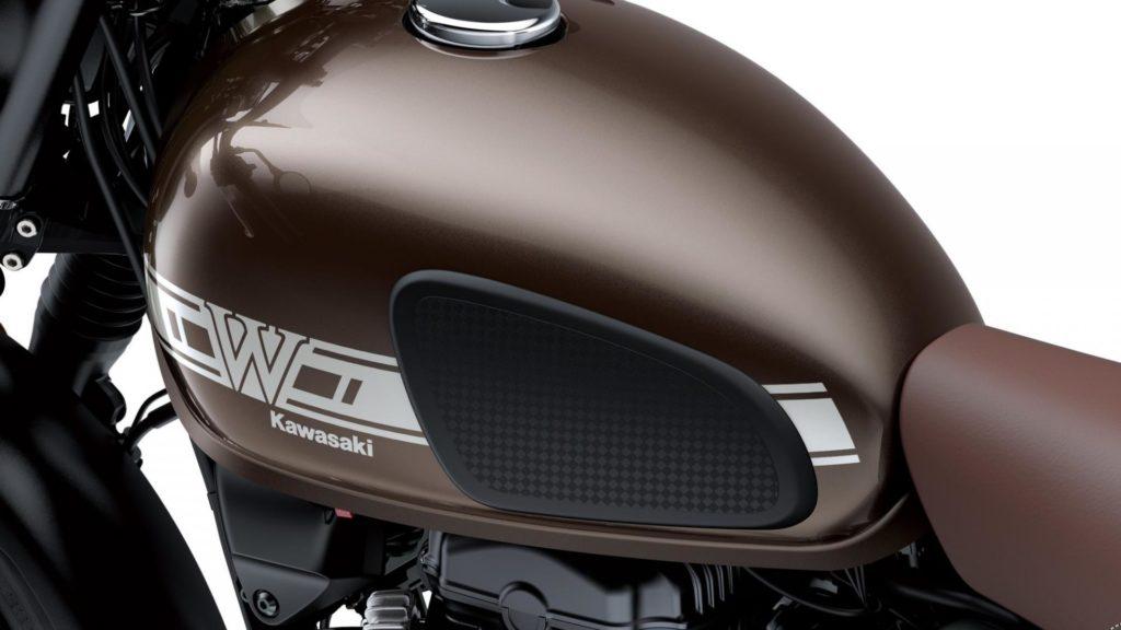 Kawasaki W800 - serbatoio