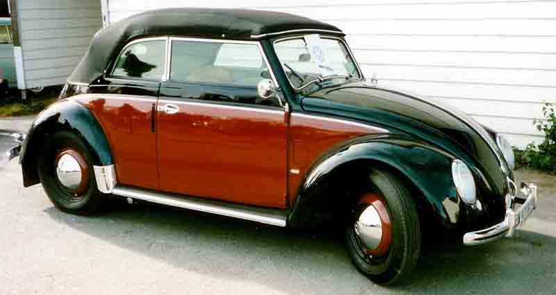 Maggiolino Wolkswagen - La versione Cabriolet
