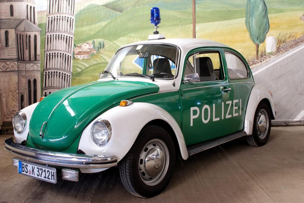 Maggiolino Wolkswagen - Vettura usata dalla Polizia Tedesca