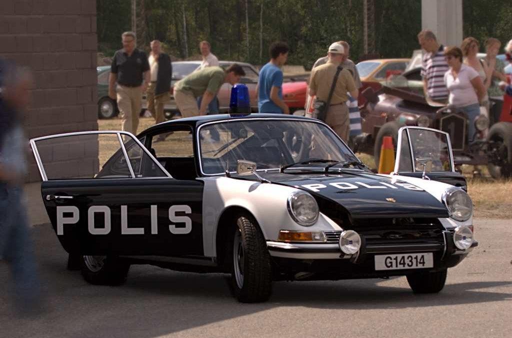 Porsche 911 - La versione per la polizia svedese