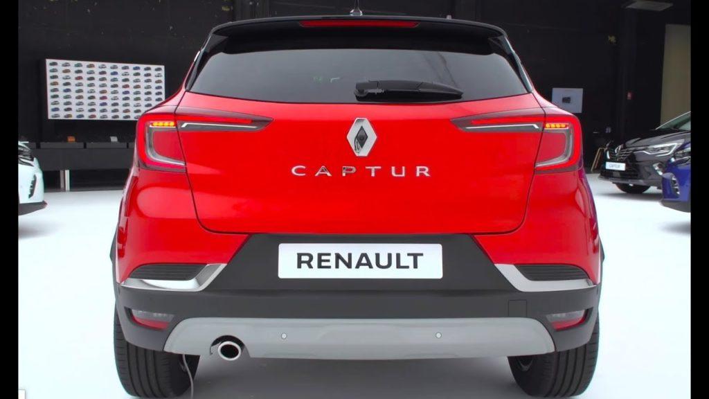 Renault Capture 2020 - Posteriore