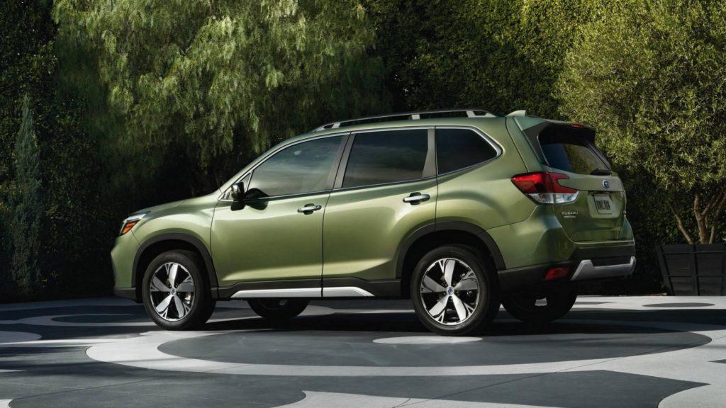 Subaru Forester - Laterale