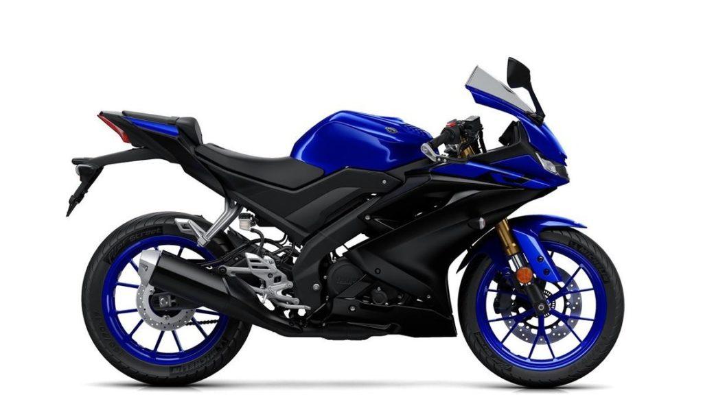 Yamaha YZF-R125 - Laterale