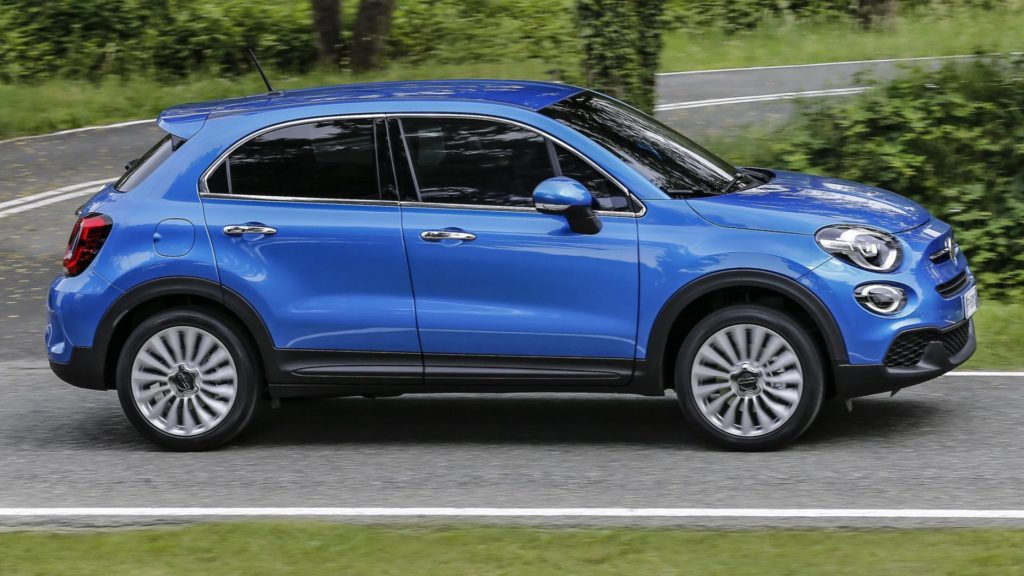 Fiat 500x - Laterale