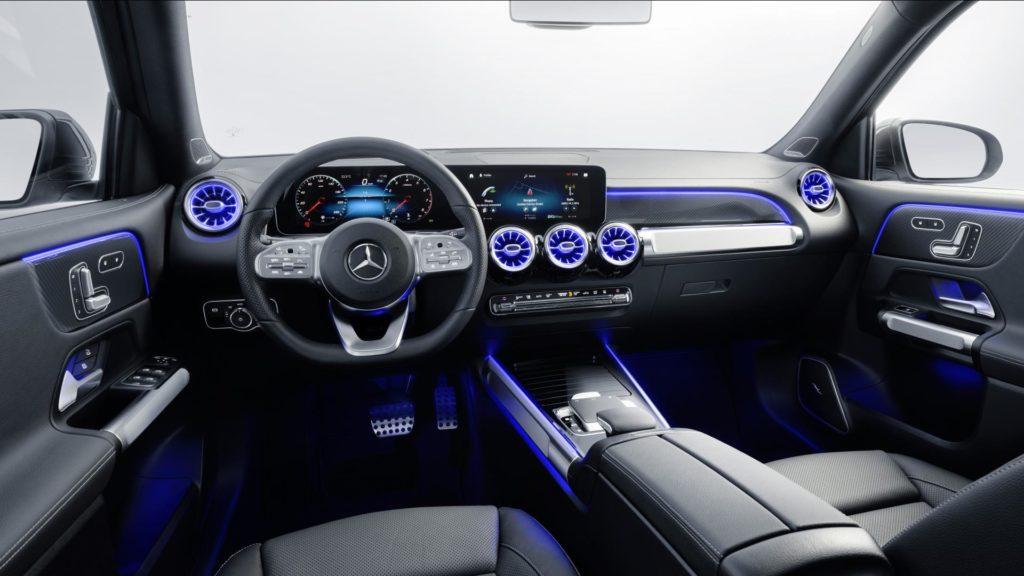 Mercedes GLB - Interni