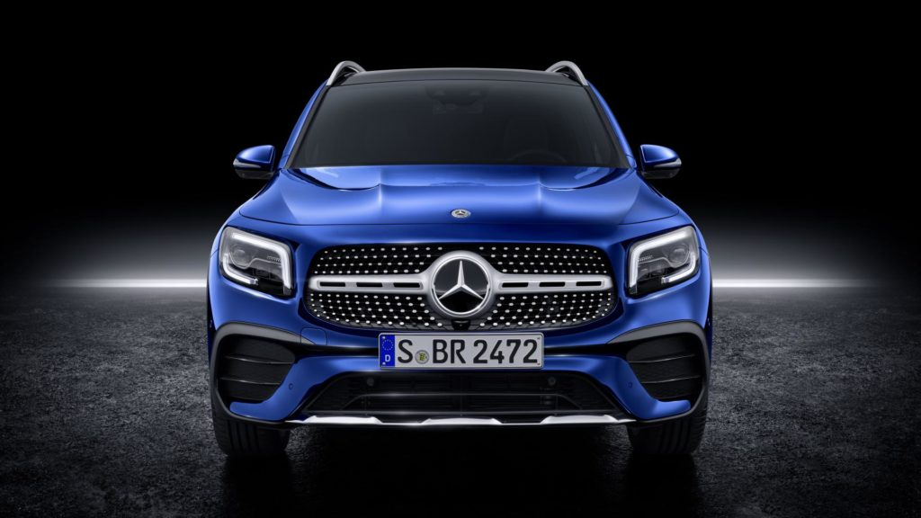 Mercedes GLB - Frontale