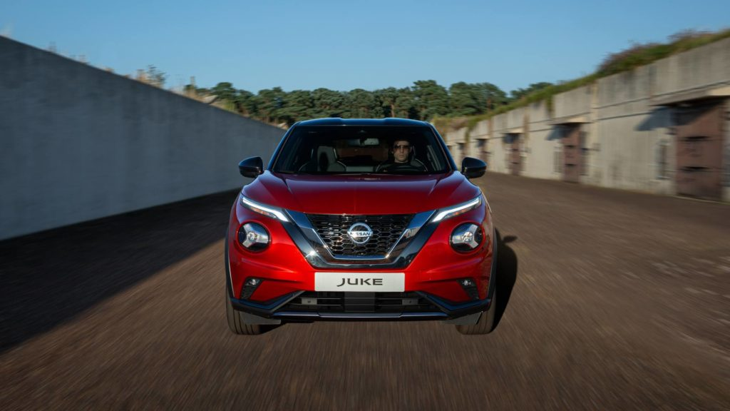 Nissan Juke - Frontale