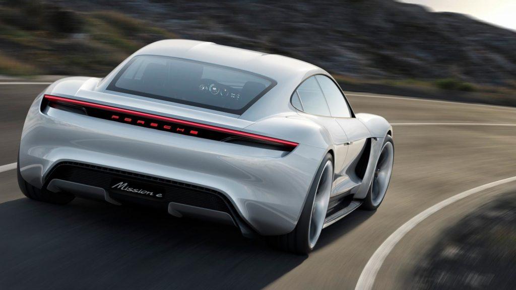 Porsche Taycan - Posteriore