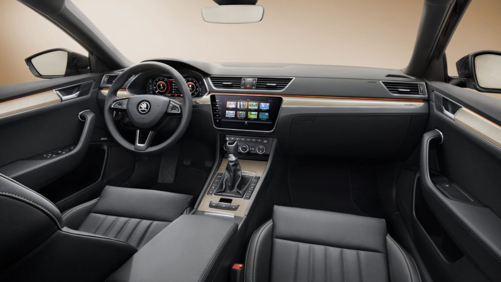 Skoda Superb - Interni