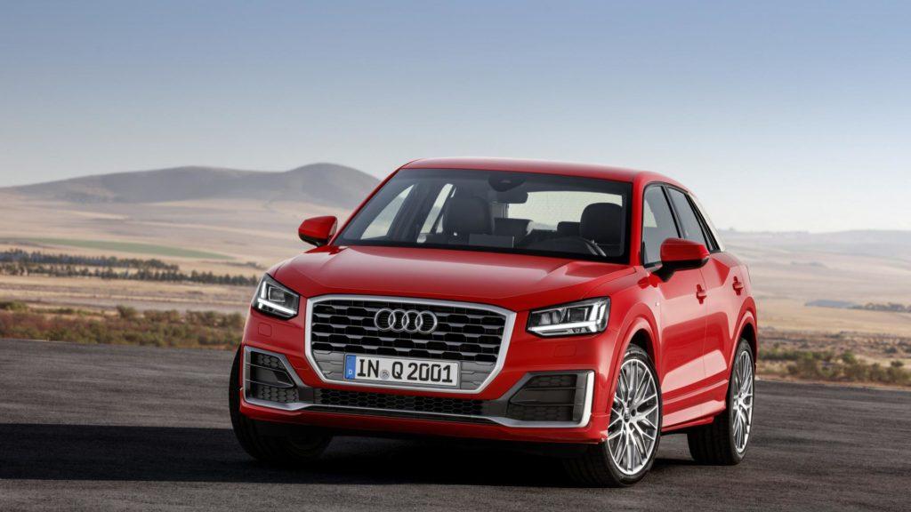 Audi Q2 - Frontale