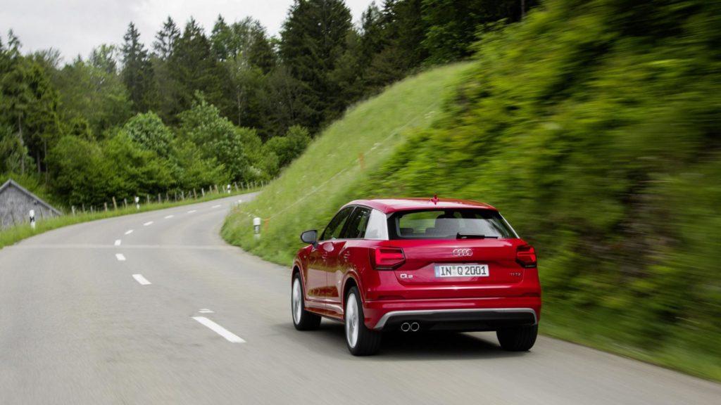 Audi Q2 - Posteriore