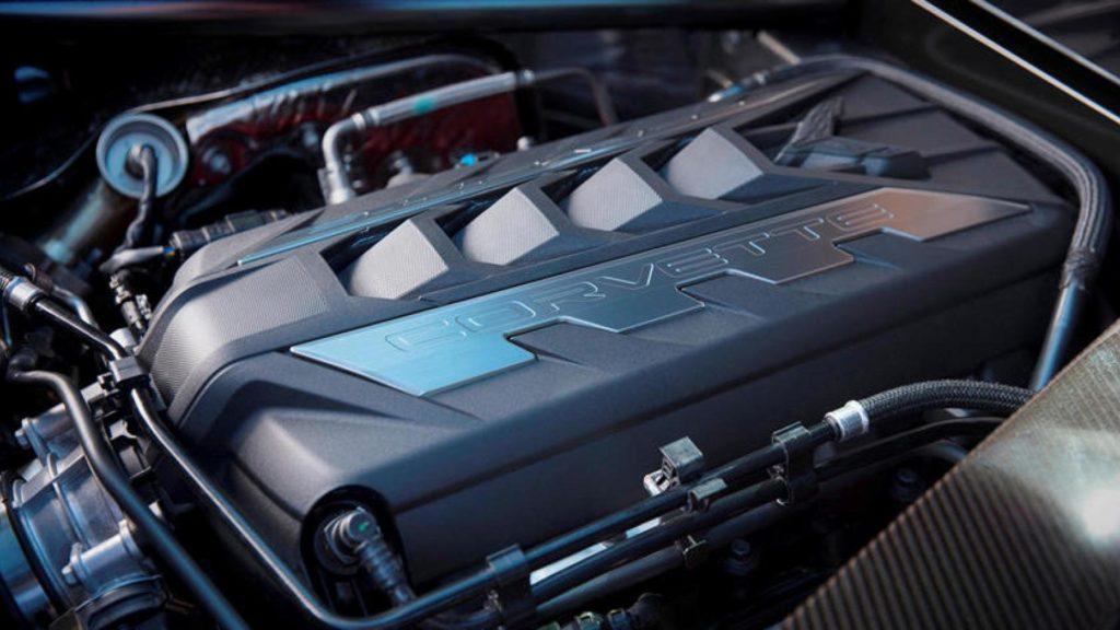 Chevrolet Corvette - Motore