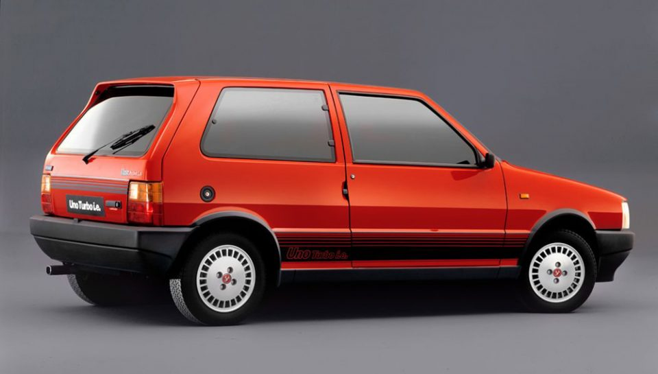Fiat Uno - La versione Turbo