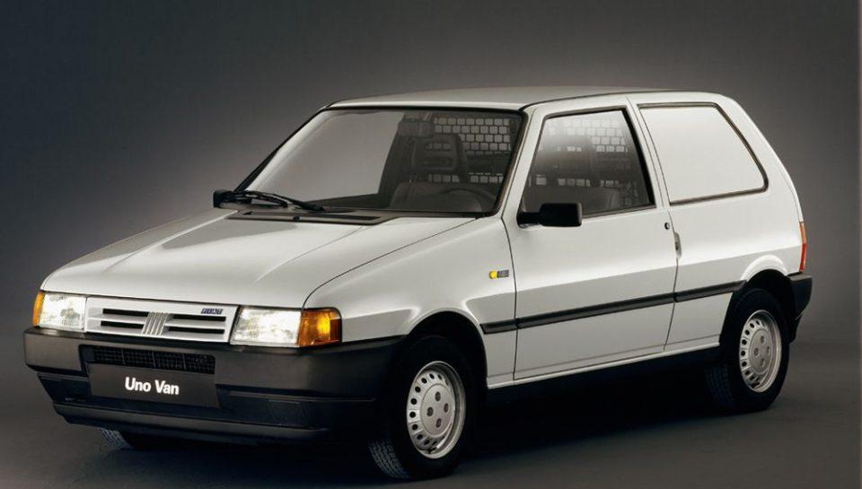 Fiat Uno - La versione Van