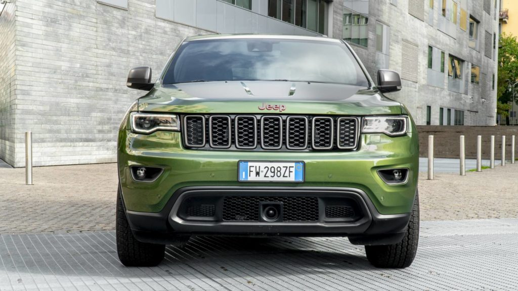 Jeep Grand Cherokee Traulhawk - Frontale