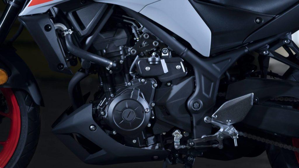 Yamaha MT-03 - Dettaglio Motore