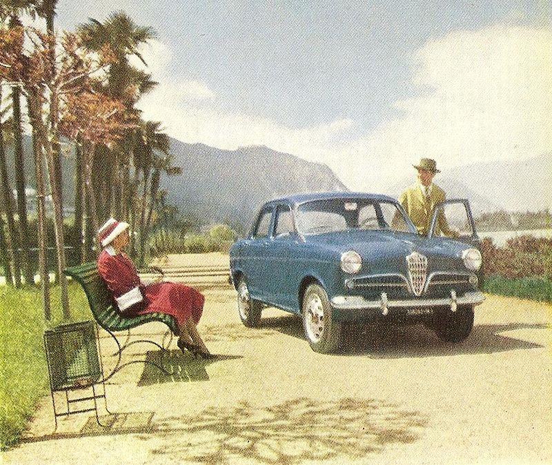Alfa Romeo Giulietta - Versione Berlina