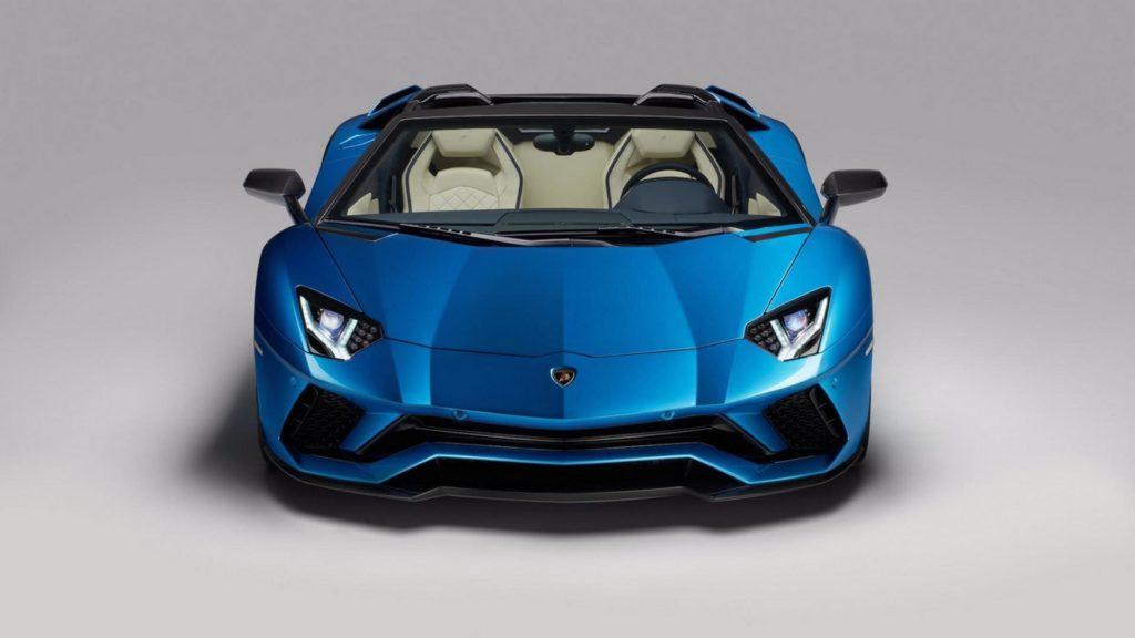 Lamborghini Aventador S Roadster - Frontale