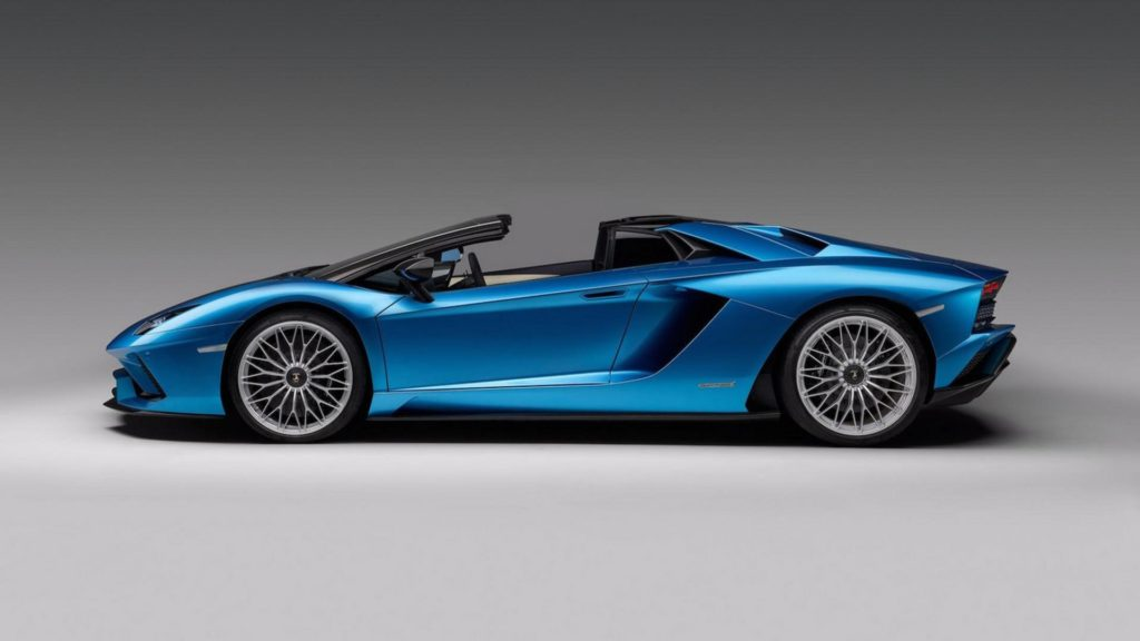 Lamborghini Aventador S Roadster - Laterale