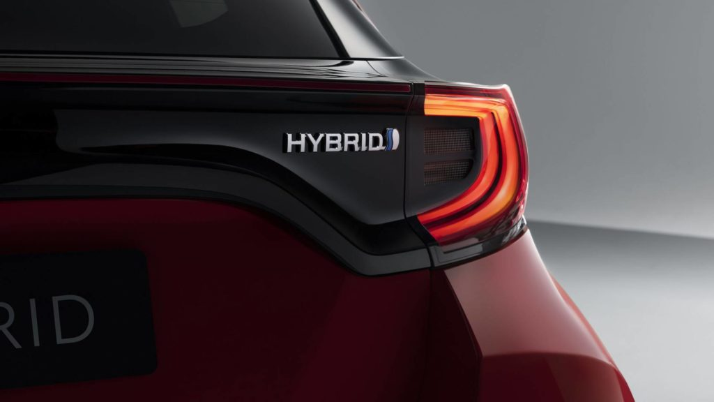 Toyota Yaris 2020 - Dettaglio Hybrid
