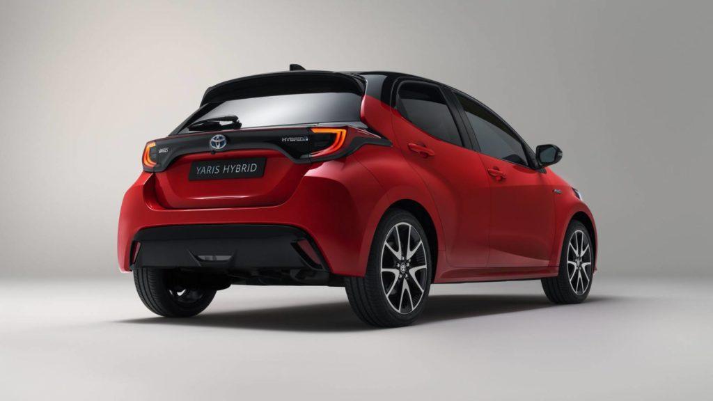 Toyota Yaris - Posteriore