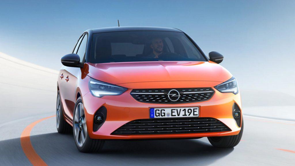 Nuova Opel Corsa - Frontale