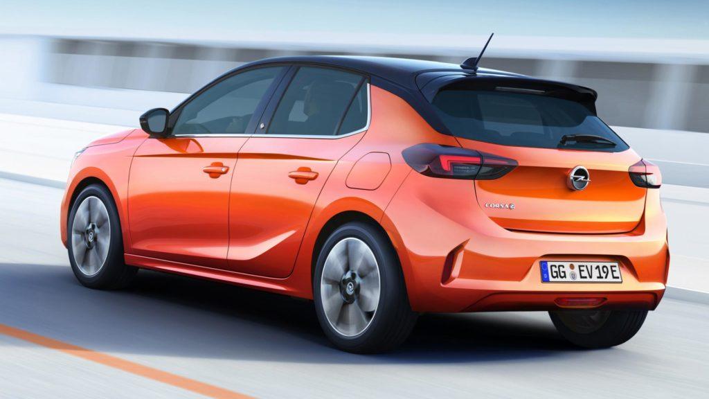 Nuova Opel Corsa - Posteiore