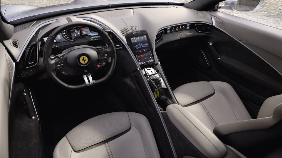 Ferrari Roma - Abitacolo