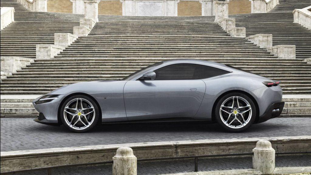 Ferrari Roma - Laterale