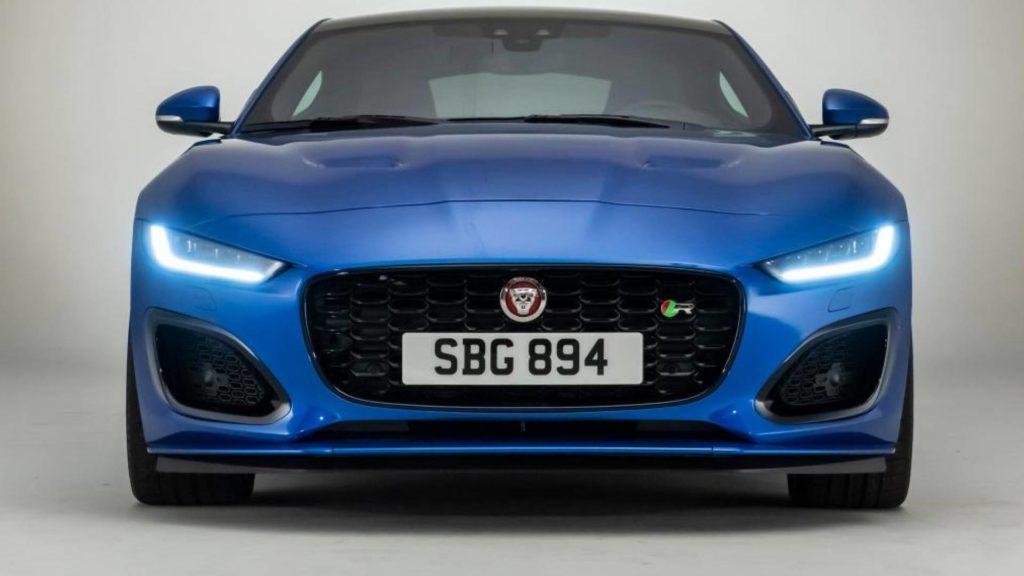 Nuova Jaguar F-Type 2020 - Frontale