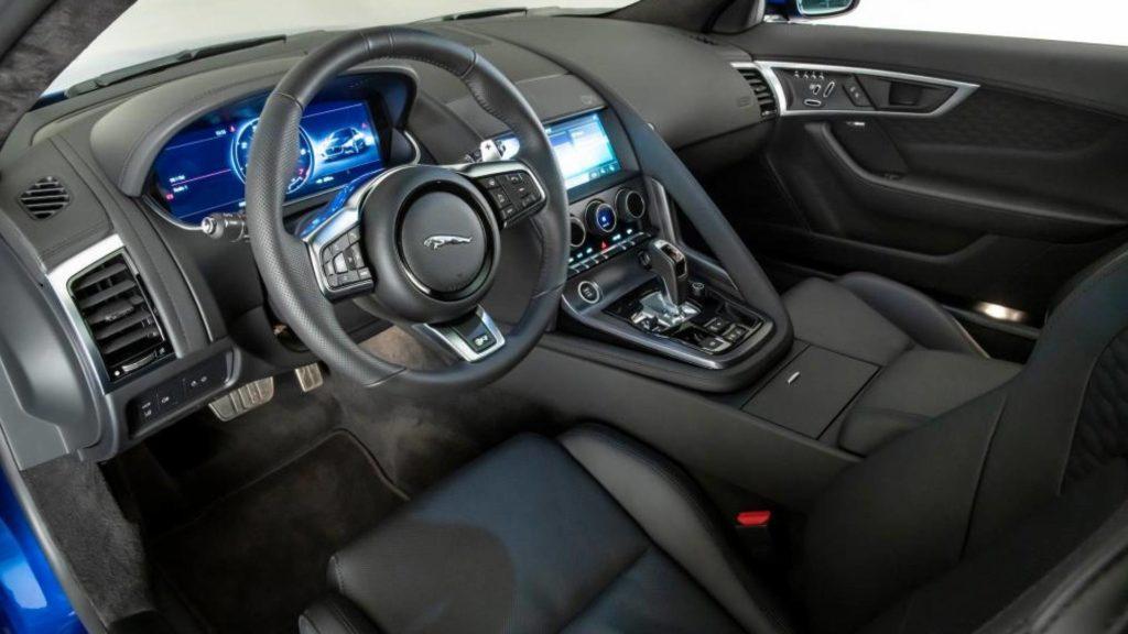 Nuova Jaguar F-Type 2020 - Interni