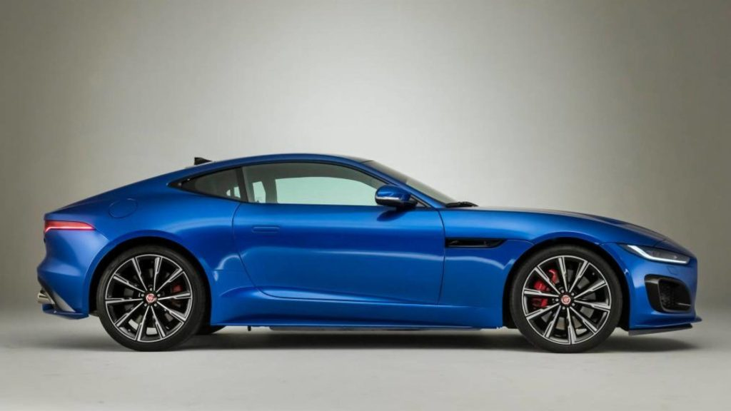 Nuova Jaguar F-Type 2020 - Laterale